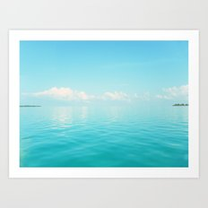 Sky/Sea Art Print