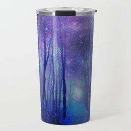 Fantasy Path Purple Blue Travel Mug