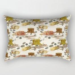 Woodlouse Wandering Rectangular Pillow