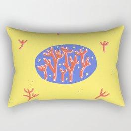 orange urchin Rectangular Pillow