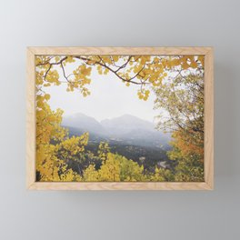 Fall Frame Framed Mini Art Print