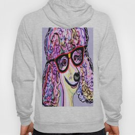 Hipster Poodle Hoody