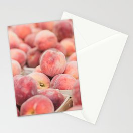 Peaches at the Farmer's Market Stationery Cards