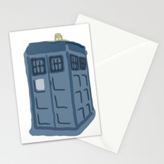Abstract TARDIS Stationery Cards