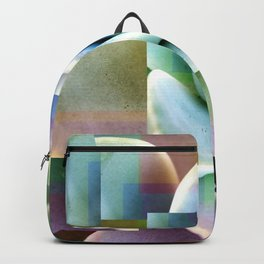 Succulents collage Backpack