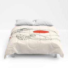 Crazy Car Art 0160 Comforters