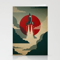always Stationery Cards featuring The Voyage by Danny Haas