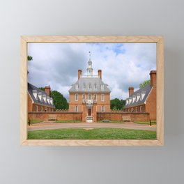Colonial Williamsburg  Governers Palace Framed Mini Art Print