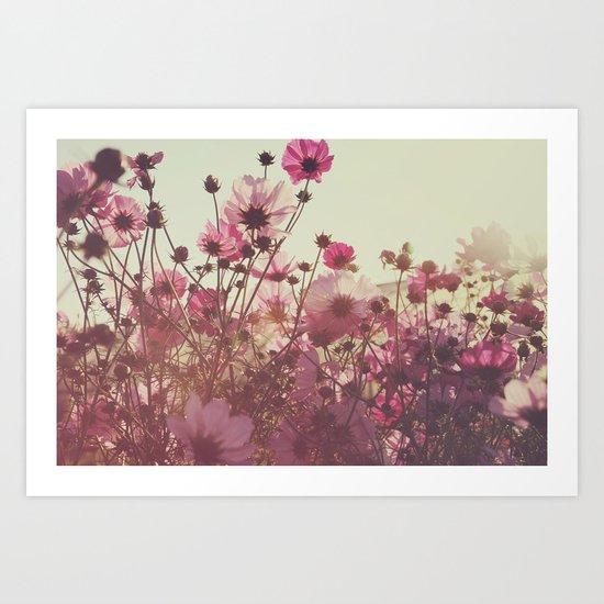 October Blooming 01 Art Print