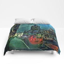 Chapel Street Nights Comforters