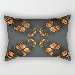 Butterfly Symmetry Rectangular Pillow