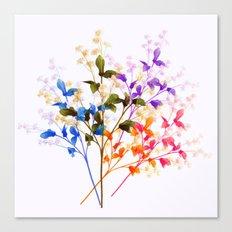 Itty Bitty Flowers Canvas Print