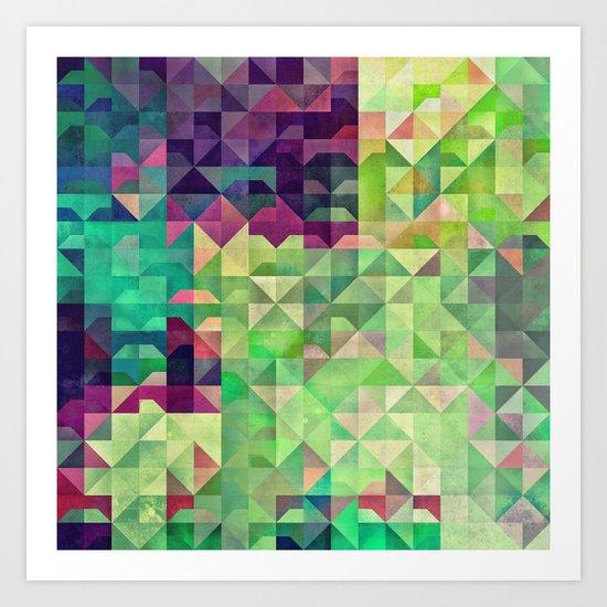 Gryyn xhrynk Art Print