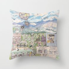 Echo Park Throw Pillow