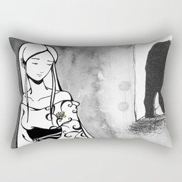 The Beauty and the Beast Rectangular Pillow