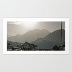 Achromatic Lumen Art Print