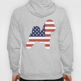 Bichon-Frise-tshirt,-patriotic-Bichon-Frise Hoody