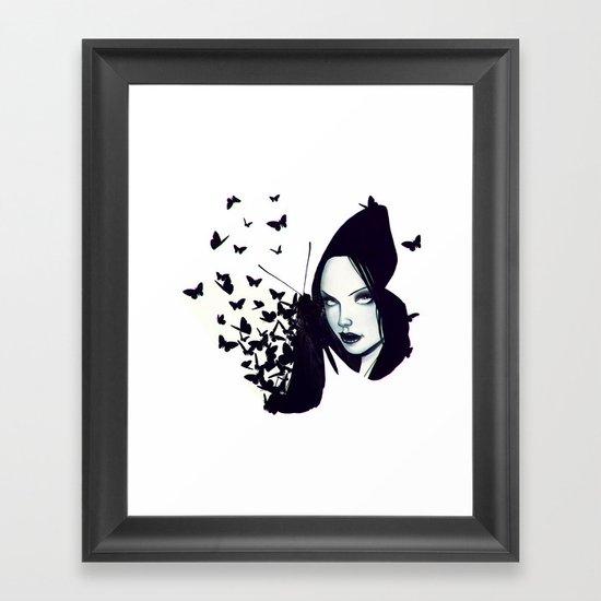 Butterflies 2.0 Framed Art Print