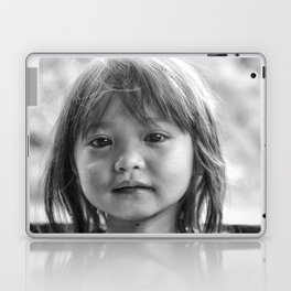 Portrait_The Malaysian borneo native kid Laptop & iPad Skin