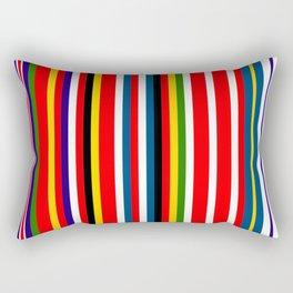 Bars of the Union Rectangular Pillow