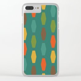 Colima - Teal Clear iPhone Case