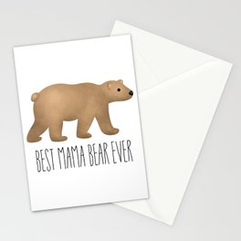 Best Mama Bear Ever Stationery Cards