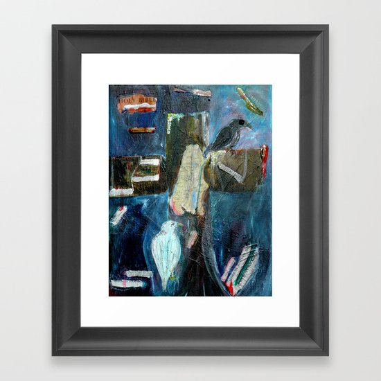 All the same in the end Framed Art Print