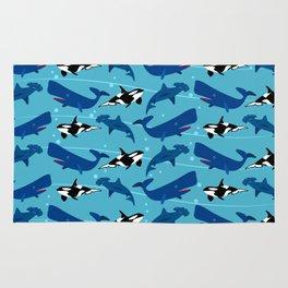 Sea animals Rug