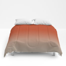 Color Fade, Ombre, Background Color Change Comforters