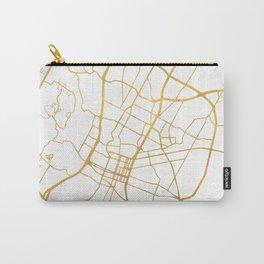AUSTIN TEXAS CITY STREET MAP ART Carry-All Pouch
