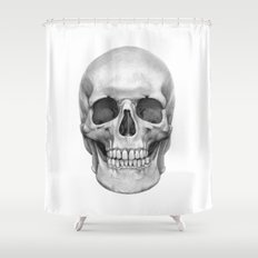 Skull G127 Shower Curtain