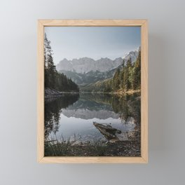 Lake View - Landscape and Nature Photography Framed Mini Art Print