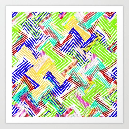 Nu Wave Art Print