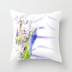 Sigur Ros Throw Pillow