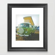 Westy Framed Art Print