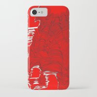 catcher in the rye iPhone & iPod Cases featuring Lineart Rye by Hollis Campbell
