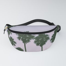 Palm Trees Sunset Fanny Pack