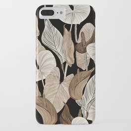 Lush lily - russet iPhone Case