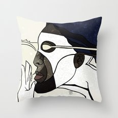 Captain Photon Throw Pillow