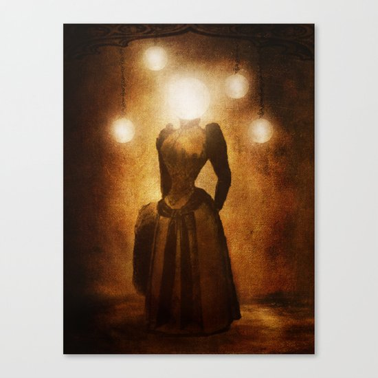 Lady of the Light Canvas Print