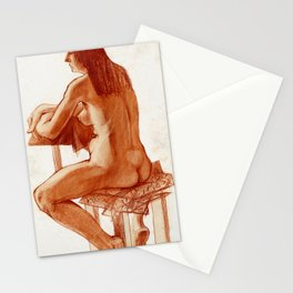 Nude I Stationery Cards