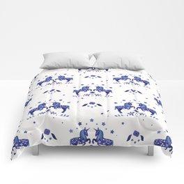 Delft Unicorns Comforters