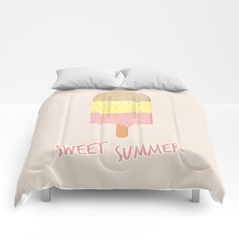Summer Ice Cream Comforters