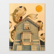 Fish Migration Canvas Print