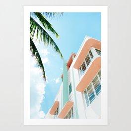 Miami Fresh Summer Day Art Print
