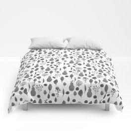 Demi White Comforters
