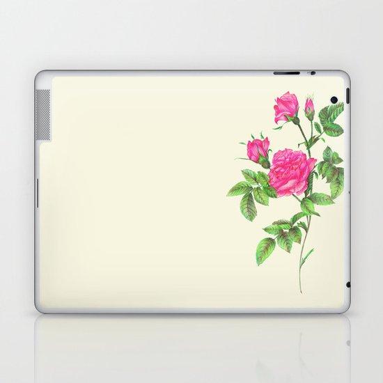 Ballpoint Pen, Redouté's Roses Laptop & iPad Skin