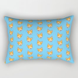Corgi Puppies! Rectangular Pillow