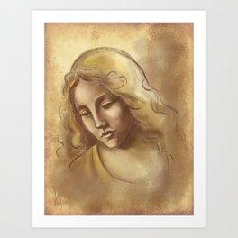 Renaissance Portrait Art Print