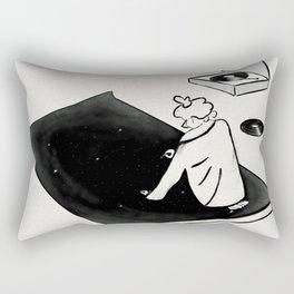 Tune In Rectangular Pillow
